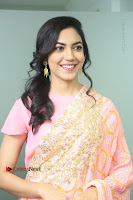 Actress Ritu Varma Pos in Beautiful Pink Anarkali Dress at at Keshava Movie Interview .COM 0103.JPG