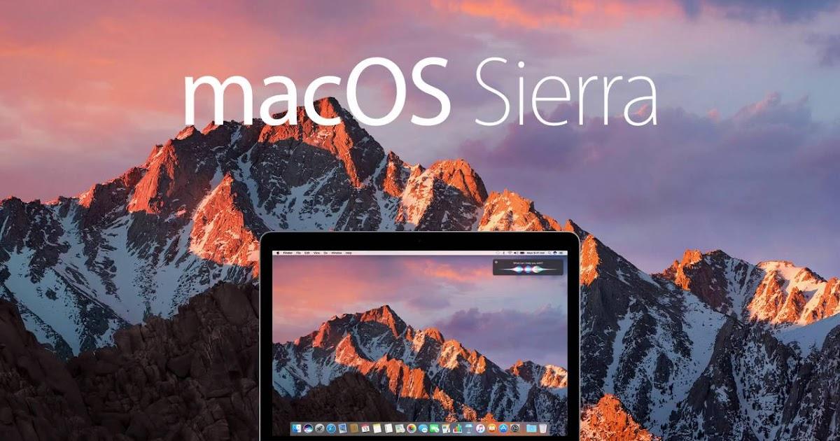 MacOS Sierra v10.12 VMware ISO Free Download