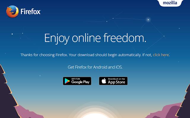 موزيلا فايرفوكس 2017 عربي كامل - Mozilla Firefox تحميل مجانا