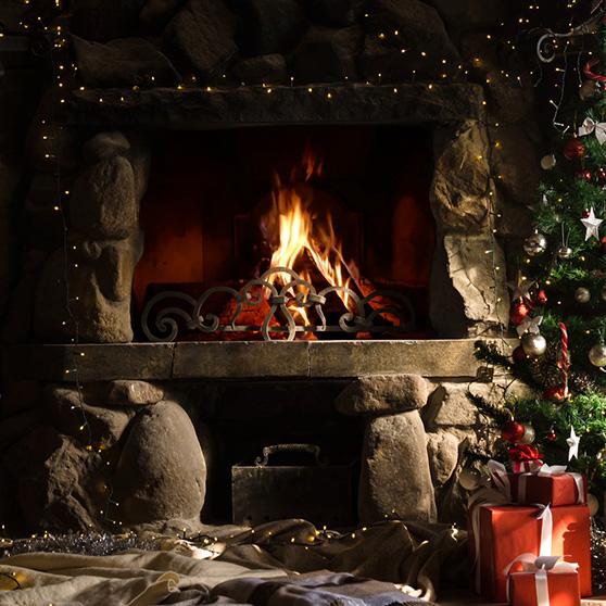 Christmas Cabin Wallpaper Engine