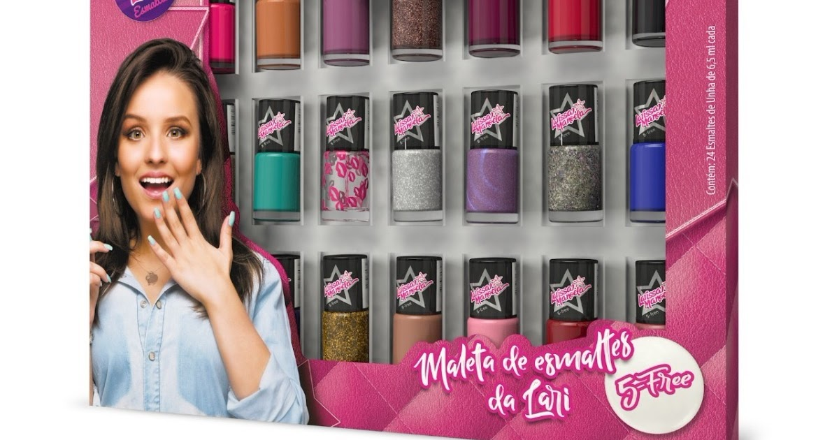 b4736d0206a67 Blog EveryDay  Resenha  Esmaltes Larissa Manoela 5 Free