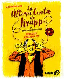La última cinta de Krapp (TEATRO) 1