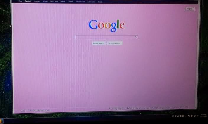 For a Technical Mindset: Asus x55a screen color distortion