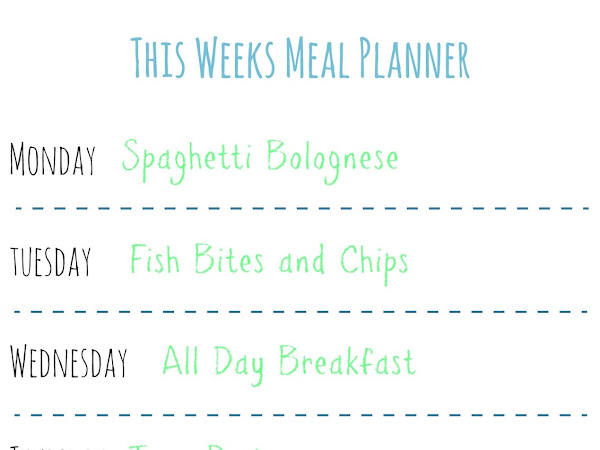 Slimming World | Last Weeks Meal Planner