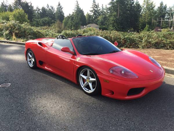 Beautiful 2003 Ferrari 360 Spider