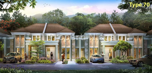 Rumah-Cluster-Rousseau-Residence-Sentul-City-Type-70