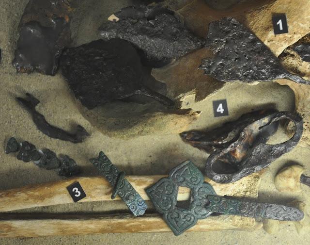 Muzeum Ziemi Przemyskiej - artefakty z cmentarzyska staromadziarskiego