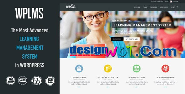 WPLMS e-Learning Management System WordPress Theme