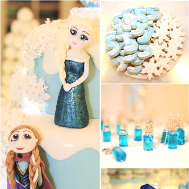 A Magical Frozen Inspired Birthday Party