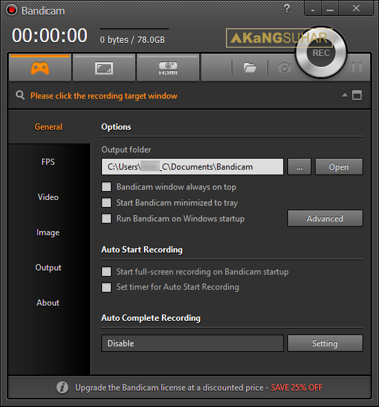 Download Bandicam 3.3.3.1209 Full Version Terbaru