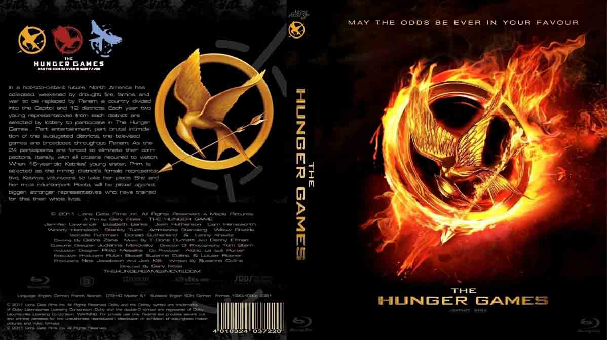 The Hunger Games (2012) ~ Movie Cover