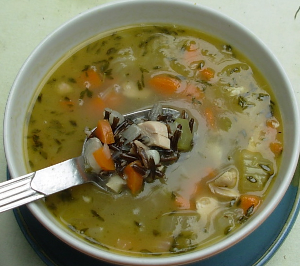 From Kirsten's Kitchen To Yours: Chicken And Wild Rice Soup