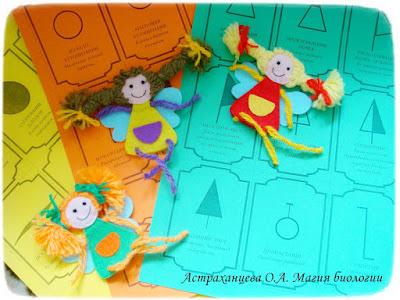 пальчиковые игрушки феечки игра фенофазы фетр