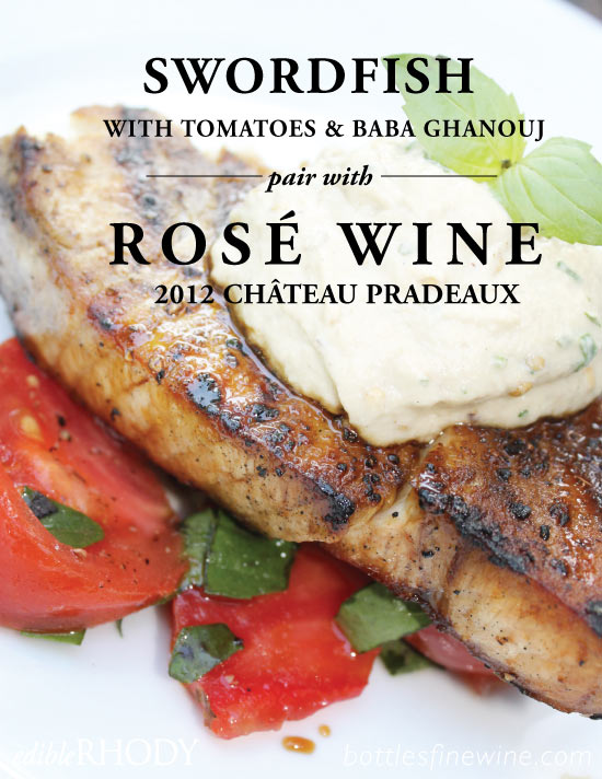 Grilled Swordfish Recipe Paired with Rosé Wine - Drink | A