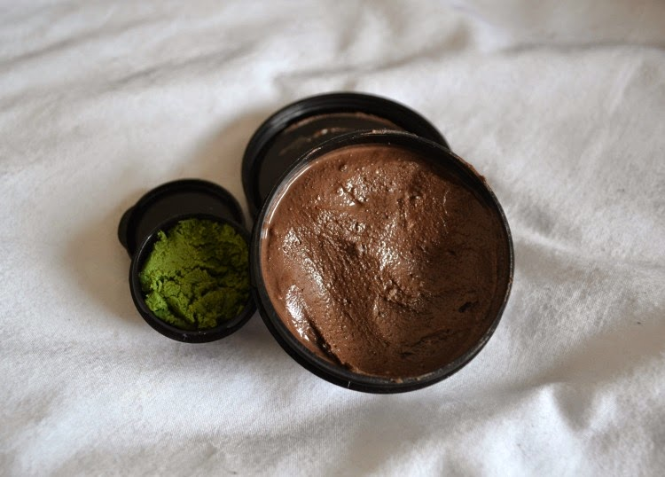 Lush cupcake face mask herbalism cleanser