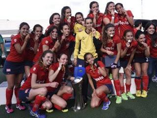 HOCKEY HIERBA - SPV Complutense nuevo campeón de Liga femenina batiendo en los penaltis al Club de Campo