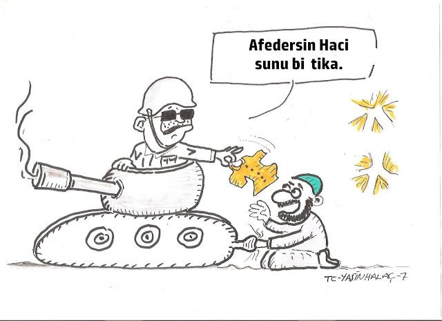 15 temmuz tayyip erdoğan tank karikatürü