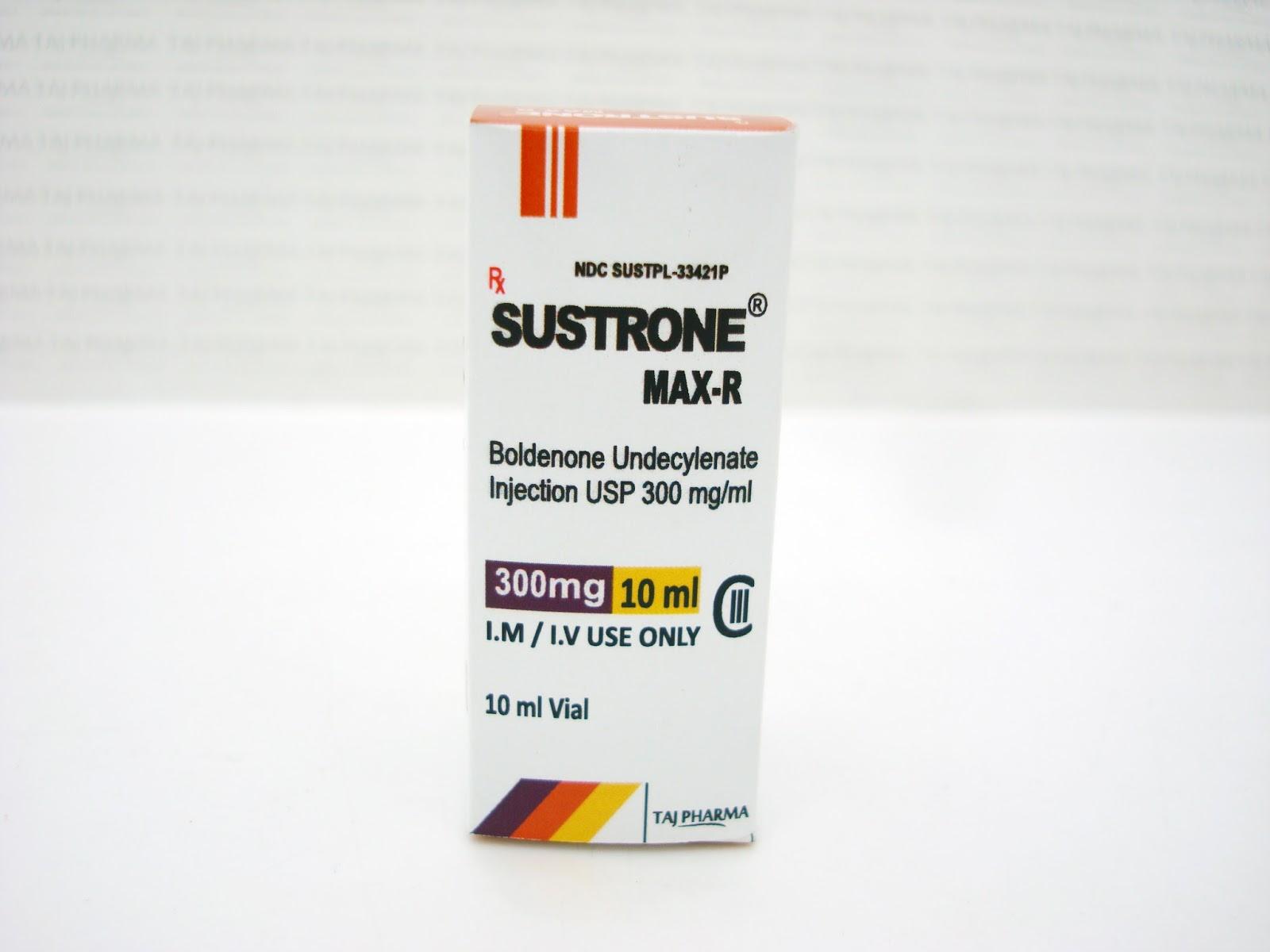 SUSTRONE ® MAX-R (BOLDENONE UNDECYLENATE) / Boldenone Undecylenate