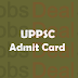 UPPSC Lecturer Admit Card 2017 | UPPSC Scientific Officer Exam Date
