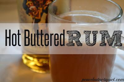 #rumdrink #hotbutteredrum #falldrink #recipe #butteredrum