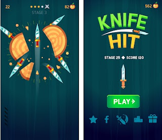 Knife Hit Mod Apk
