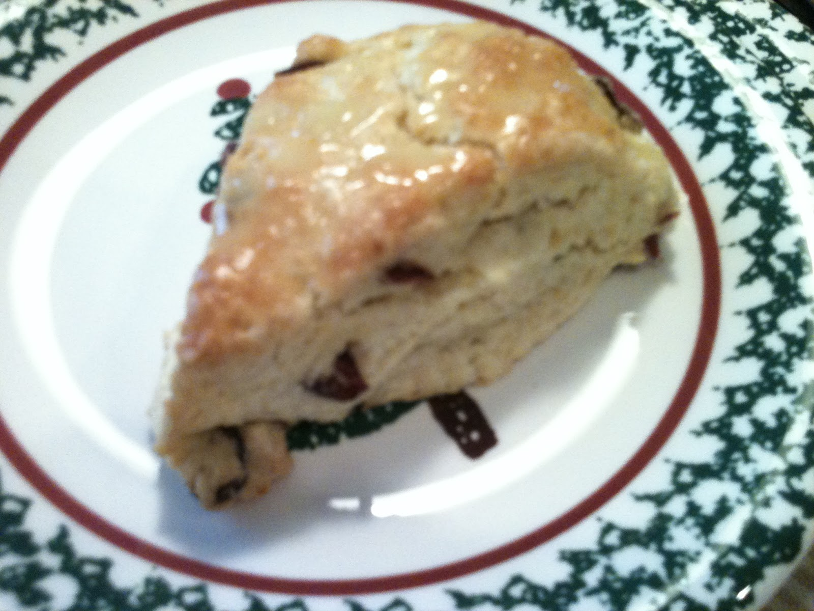 Kitty's Kozy Kitchen: Cranberry Orange Scones