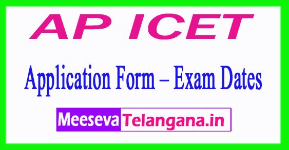 AP ICET 2019 Application Form – Exam Dates, Exam Patten