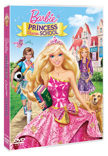 Barbie Princess Charm School DVD Cover