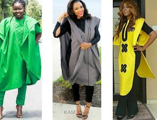 Agbada for Nigerian Yoruba woman
