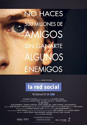 La red social - Cartel