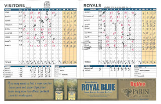Twins vs. Royals, 06-30-09. Twins win, 2-1.