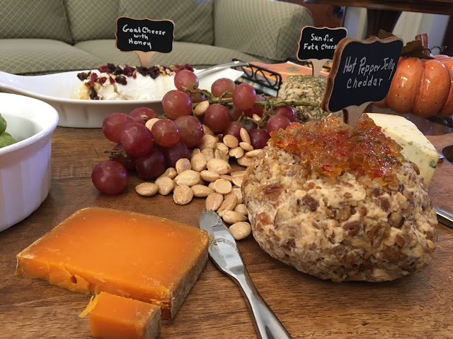 Fancy Cheeses and accouterments from Calandro's