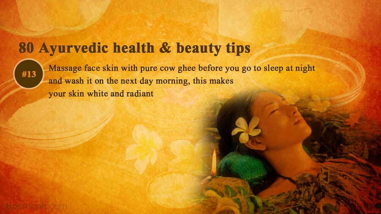 Ayurvedic beauty tips for skin glow from Ayurveda books - Tipsmonk