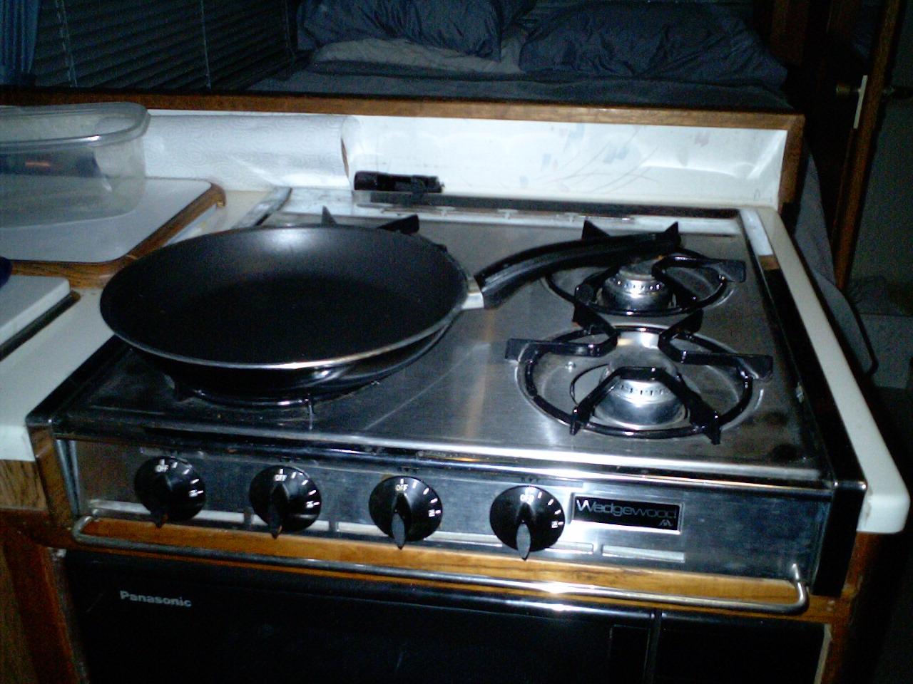 propane kitchen stove wallpaper backsplash wanderman better cooking on your