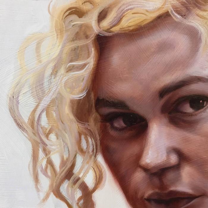 Часть портрета. Shaina Craft