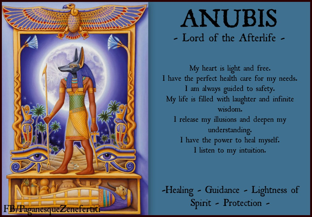 paganesque: ANUBIS - Lord of the Afterlife