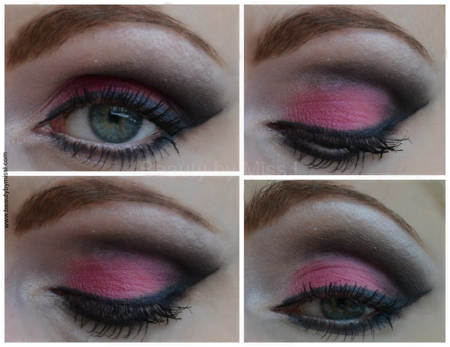 pink smoky eye makeup