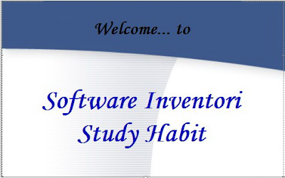 Softwate Inventory Study Habit