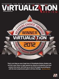 DataCore's SANsymphony V Chosen by Virtualization Review's Readers as a Readers Choice Preferred Product Award Winner