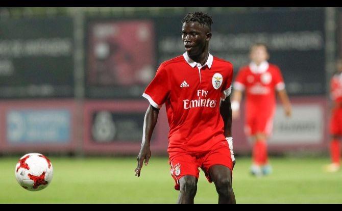 A jovem promessa do Benfica