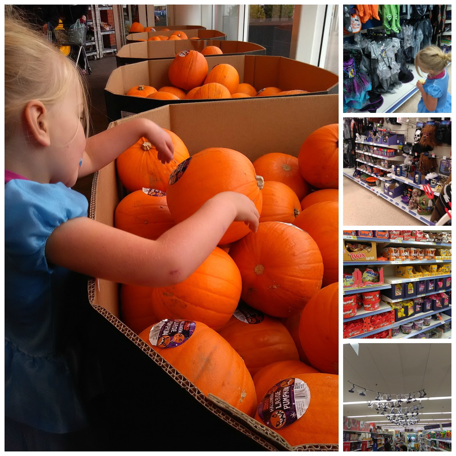 mellow mummy: a spooky visit to tesco : taking life as it comes