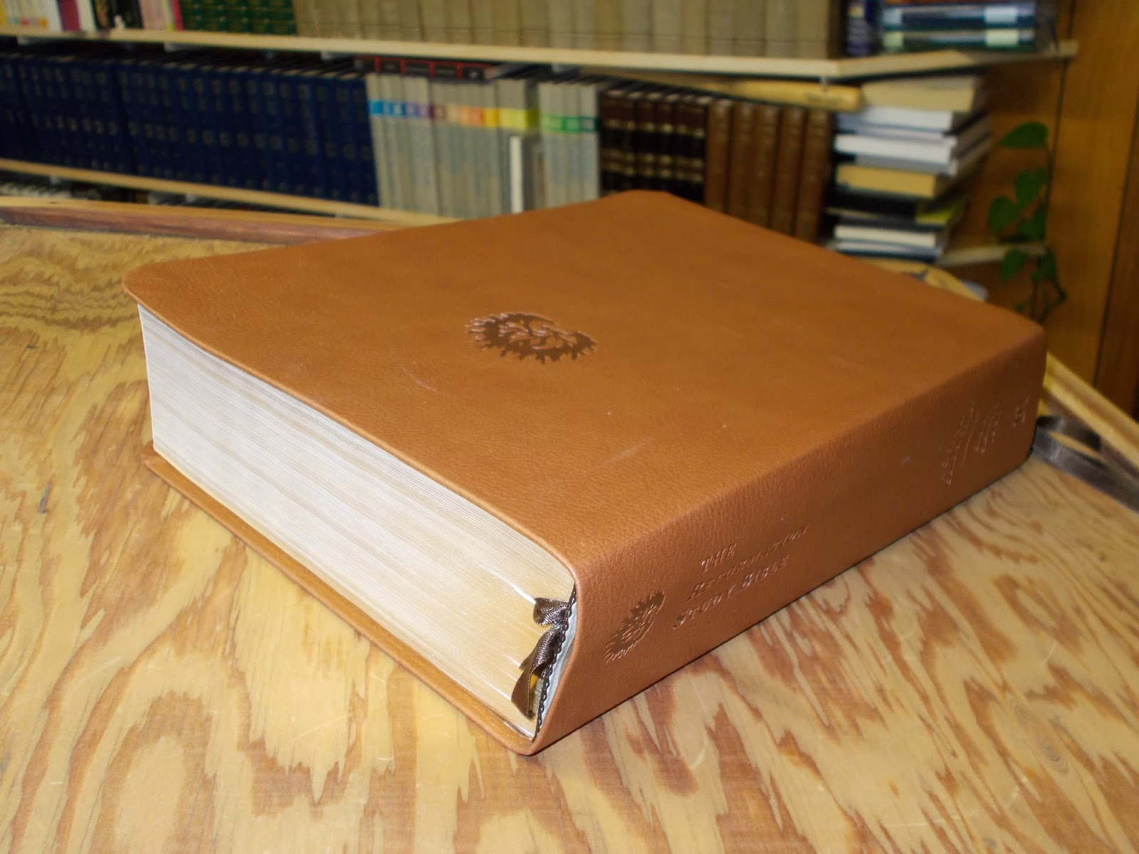 The Barnabas Blog: Study Bibles for Expositors--Reformation Study