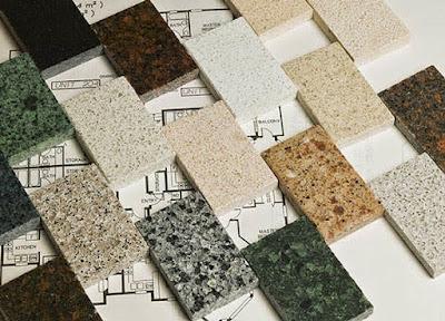 Desain Meja Dapur Dari  Batu Marmer Untuk Rumah Minimalis 1