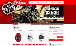 Toko Jam G-Shock Berbasis Web PHP & MySQL