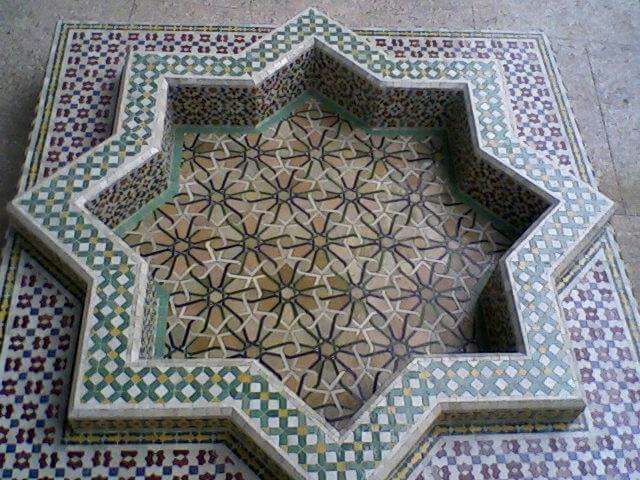 Moroccan Fountain Mosaic Tile Posted On April 12 2017