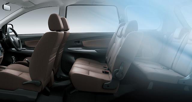 Interior Toyota Avanza yang sangat lega