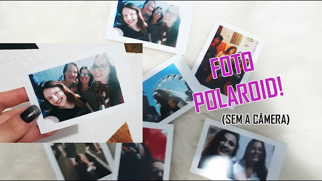 Como Fazer foto Polaroid