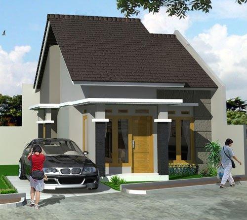 61 Gambar Rumah Minimalis 1 Lantai Tampak Depan Dengan Berbagai Macam Warna Cat Pilihan Model Rumah Terbaru