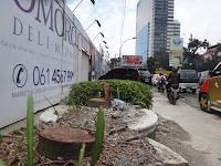Siapa yang Tebang Pohon di Depan Mega Proyek Podomoro, Pemko Medan Kok Diam Saja ?