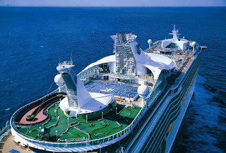 Close Up View of Royal Caribbean's Adventure of the Seas - Coming to New York